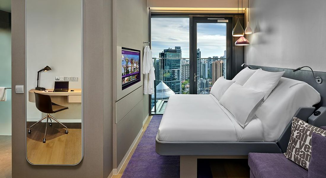 First class King Junior Suite at the YOTEL hotel